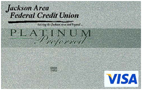 platinum silver visa credit card