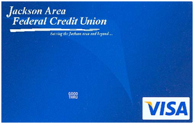secured blue visa credit card